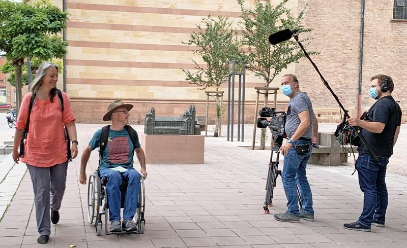 Interview für barrierefreier Pilgerweg