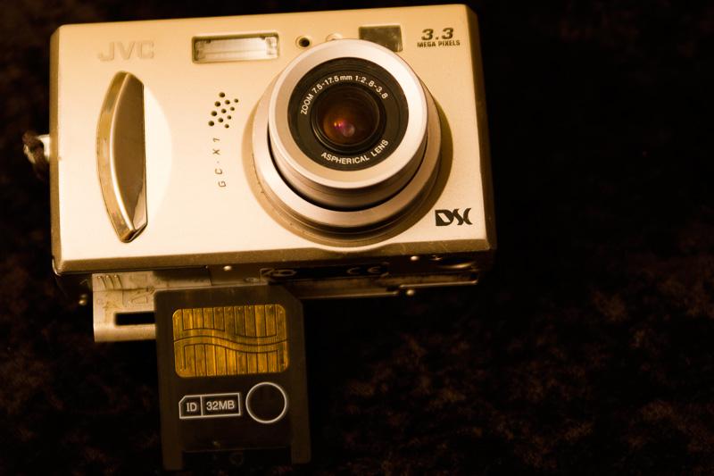 JVC Digitalkamera aus dem Jahr 2001