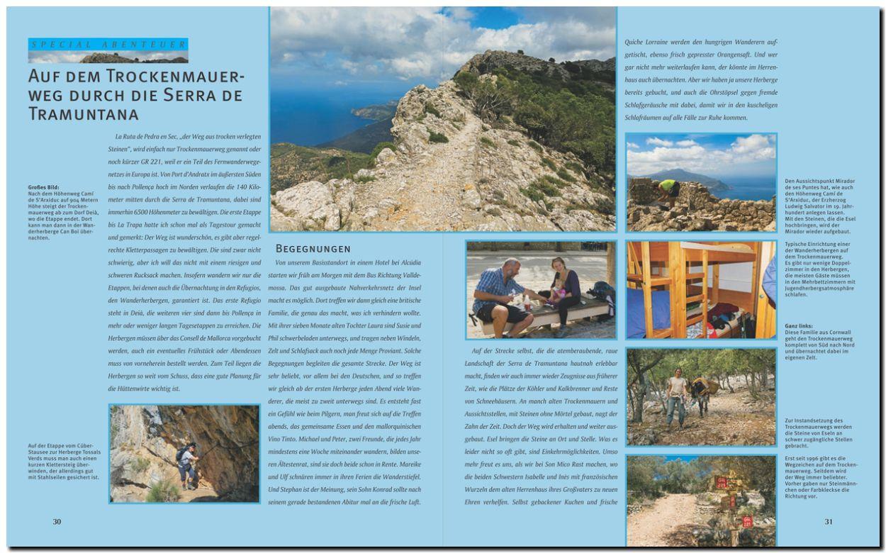 Bildband Mallorca und Menorca - Der Trockenmauerweg