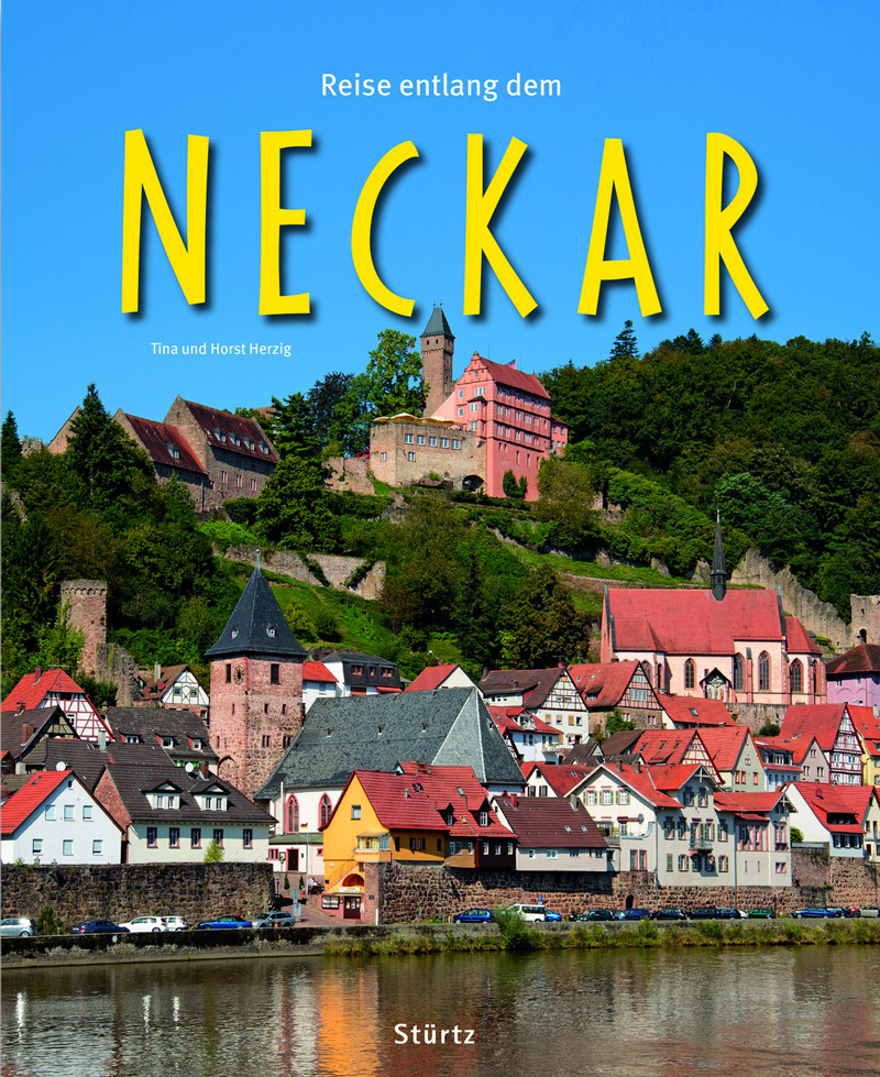 Bildband über den Neckar von der Quelle bis zur Mündung in Mannheim in den Rhein