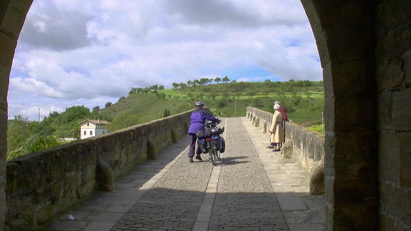 Ab jetzt sind wir auf dem berühmten Camino Franés unterwegs.