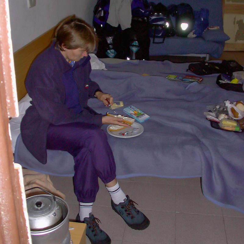 Carol Streeter macht Abendbrot, damit wir nicht teuer essen gehen müssen