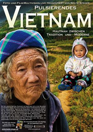 Plakat zu Pulsierendes Vietnam - Hautnah zwischen Tradition und Moderne von Beate Steger