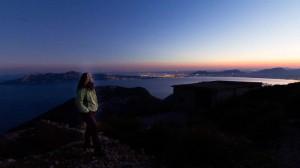 Mallorca: Beate Steger warten aufs richtige Licht bei Sonnenuntergang auf der Halbinsel Formentor