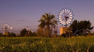 Mallorca: Windmühlen im Inselinnern