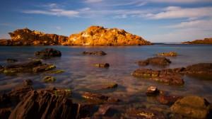 Menorca: Strand Binimel-la