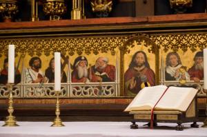 Jakobusdarstellung in einer Kirche