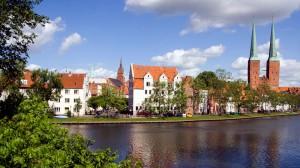 Lübeck auf der Via Baltica