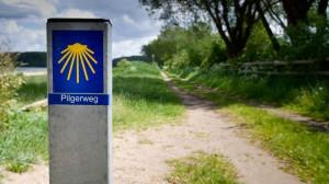 Wegzeichen Via Jutlandica