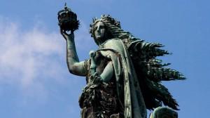 Germania, Niederwalddenkmal oberhalb von Rüdesheim