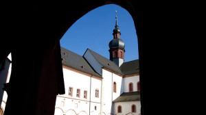 Kloster Eberbach, eine Etappe auf dem Rheinsteig