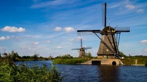 Die Mühlen von Kinderdijk, Niederlande