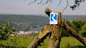 Wegzeichen des Rheinsteigs