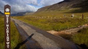 Wegzeichen West Highland Way