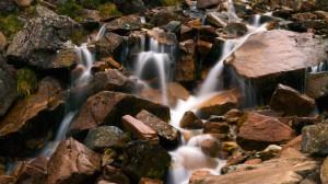 Wasserfall auf dem Ben Nevis