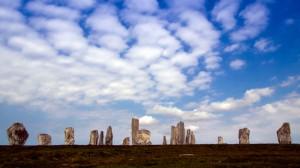Steinkreis auf der Insel Lewis