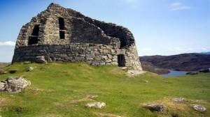 Broch Dun Carloway auf Lewis (Harris-Lewis)