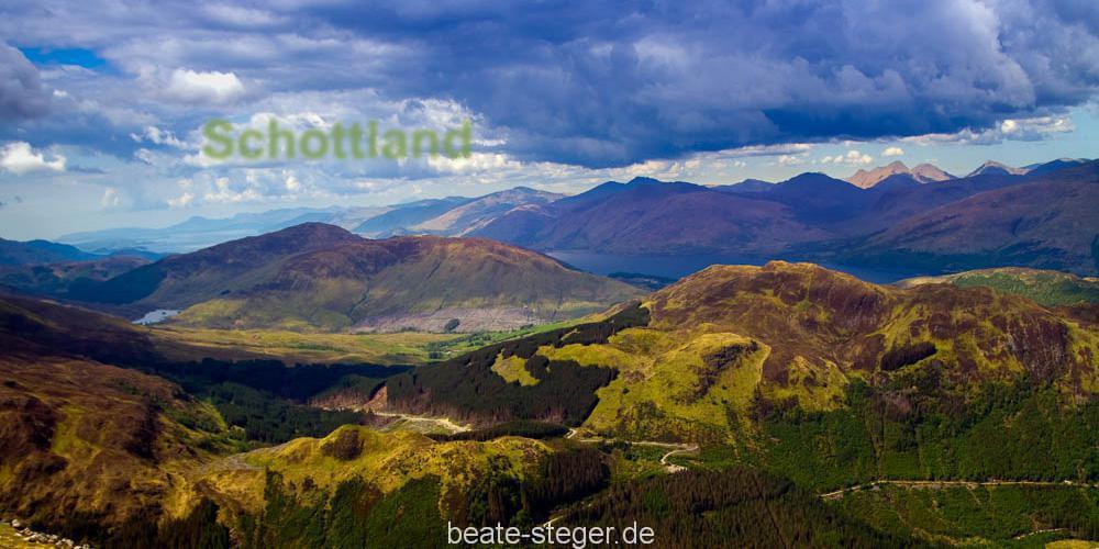 Schottland-Blick-vom-Ben-Nevis
