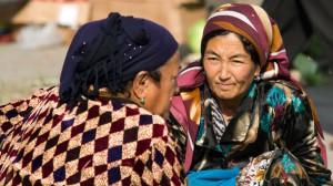 Auf dem Markt in Samarkand