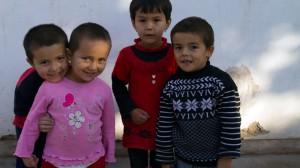 Kinder in Khiwa