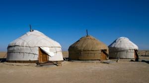 Jurten in Karakalpakistan