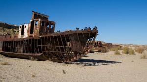 Moynaq, ehemals am Aralsee