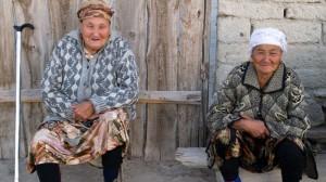 Bewohnerinnen von Moynaq