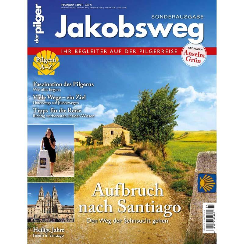 Cover Sonderheft Jakobsweg Aufbruch nach Santiago